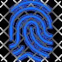 Fingerprint Finger Biometric Icon