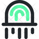 Fingerprint Security Identity Icon