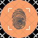 Fingerprint Thumb Print Icon