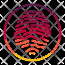 Fingerprint Multimedia Icon