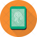 Fingerprint Scan Security Icon