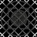 Fingerprint Fingerlock Proof Icon