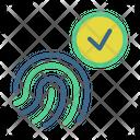 Fingerprint Scan Security Fingerprint Icon