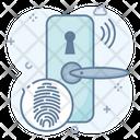 Door Lock Lock Scan Smart Lock Icon