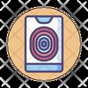 Itouch Id Fingerprint Id Fingerprint Lock Icon