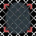 Fingerprint Identification Identification Identity Icon