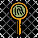 Fingerprint Key Encryption Key Encryption Icon