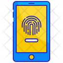 Smartphone Touch Security Icon
