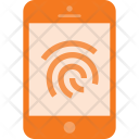 Finger Print Touch Icon