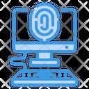 Fingerprint Lock Icon