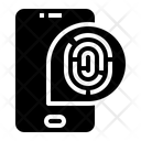 Fingerprint Scan Smartphone Scan Icon