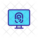 Fingerprint Lock Icon
