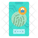 Smartphones Protection Privacy Icon