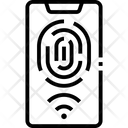 M Fingerprint Icon