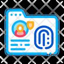 Fingerprint Base Agency Icon