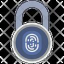Lock Finger Biometry Icon