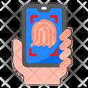 Fingerprint Lock Fingerprint Smartphone Fingerprint Icon