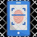 Fingerprint Lock Fingerprint Finger Phone Screen Icon