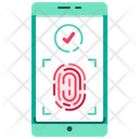 Fingerprint login Icon