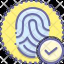 Fingerprint Matched Fingerprint Matched Icon