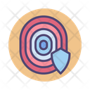 Isafe Access Fingerprint Access Fingerprint Security Icon