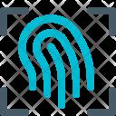 Fingerprint Scan Smart Icon