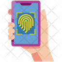 Fingerprint Scan Security Scan Icon