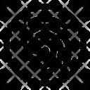Biometric Data Detect Icon