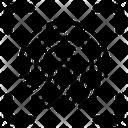 Fingerprint Fingerprint Scan Security Icon