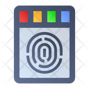 Fingerprint Scanner Sensor Icon