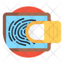 Fingerprint Scanner Biometric Fingerprint Reader Icon