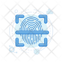 Fingerprint Scanner Fingerprint Reader Identity Scanner Icon