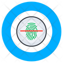 Biometric Technology Access Control Biometric Fingerprint Icon