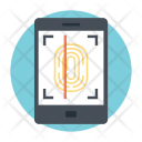 Fingerprint Scanner Reader Icon