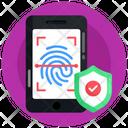 Fingerprint Scanning Fingerprint Reader Biometric Icon
