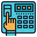 Fingerprint security Icon