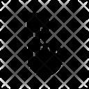 Fingerprint Biometric Security Icon