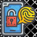 Fingerprint Security Icon