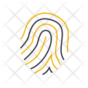 Fingerprints Security Identification Icon