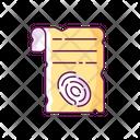 Fingerprints Paper Icon
