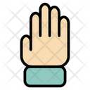 Fingers Five Hand Icon