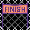 Finish Line Race Icon
