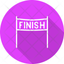 Finish Line Race Icon