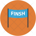 Finish Line Checkpoint Icon