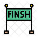 Finish Race Sport Icon
