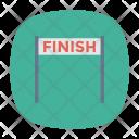 Finish Line Boundary Icon