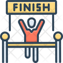 Finish Complete End Icon