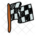 Race Finish Flag Icon