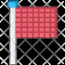 Finish Flag Running Finish Line Icon