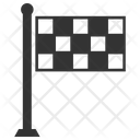 Deadline Finish Flag Icon